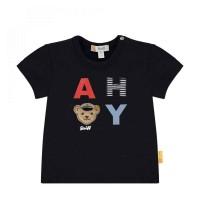 Steiff T-Shirt Ahoy navy
