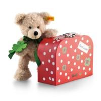 Steiff Teddybär Fynn im Koffer Punkte