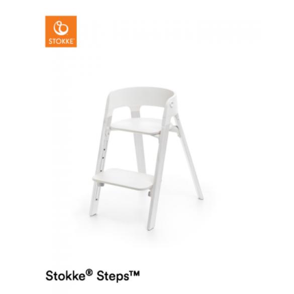 Stokke Steps Oak Wood Eiche White