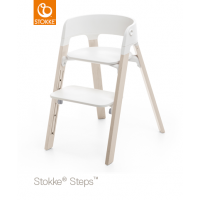 Stokke Steps white wash