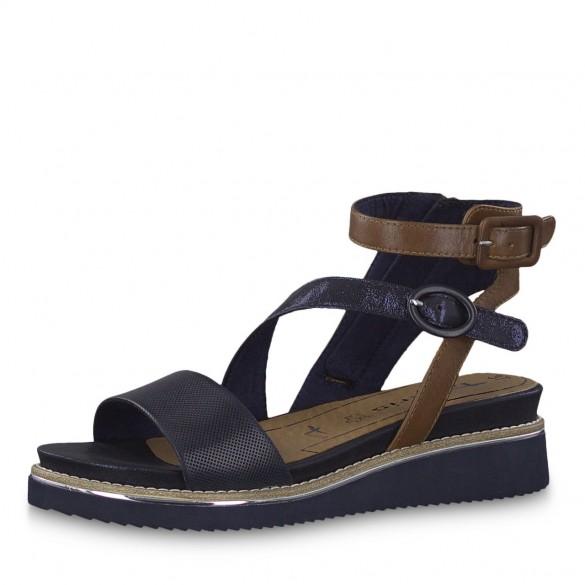 Tamaris Komfort Sandale Navy