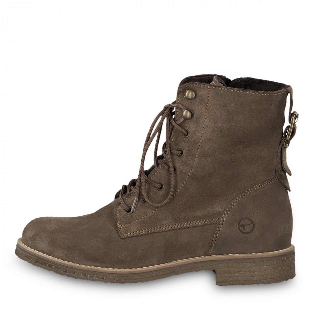a16c285e9bf995 Tamaris Damen Boots Taupe