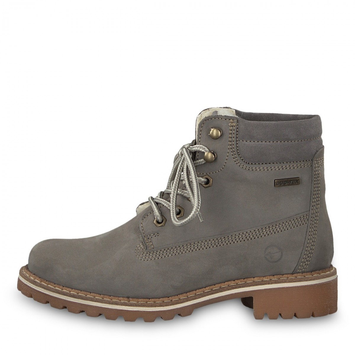 06cbc9b3f627fd Tamaris Damen Schnürboots Light Grey