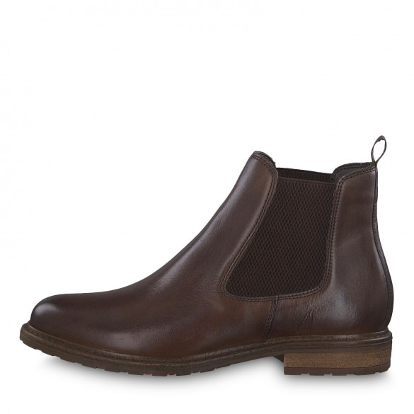 Tamaris Damen Chelsea Boot Muskat Leather