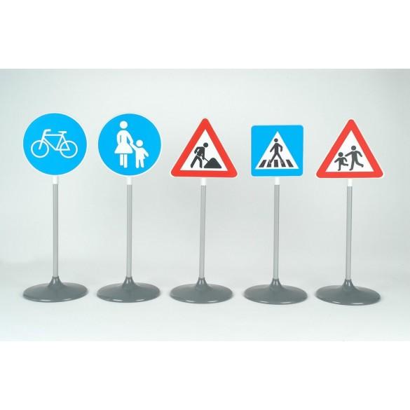Verkehrsschilder-Set 5 Teilig