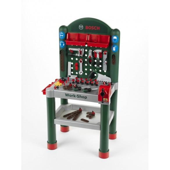 kinder werkbank bosch work shop 8320. Black Bedroom Furniture Sets. Home Design Ideas