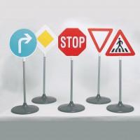Verkehrsschilder Set 5 Teile