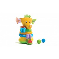 Tiny Love Musical Stack & Ball Game Elefant