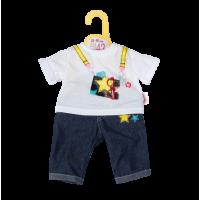 Dolly moda Puppen Jeans Hosen Outfit 43cm