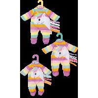 Dolly Moda Puppen Einhorn Strampler 30 cm