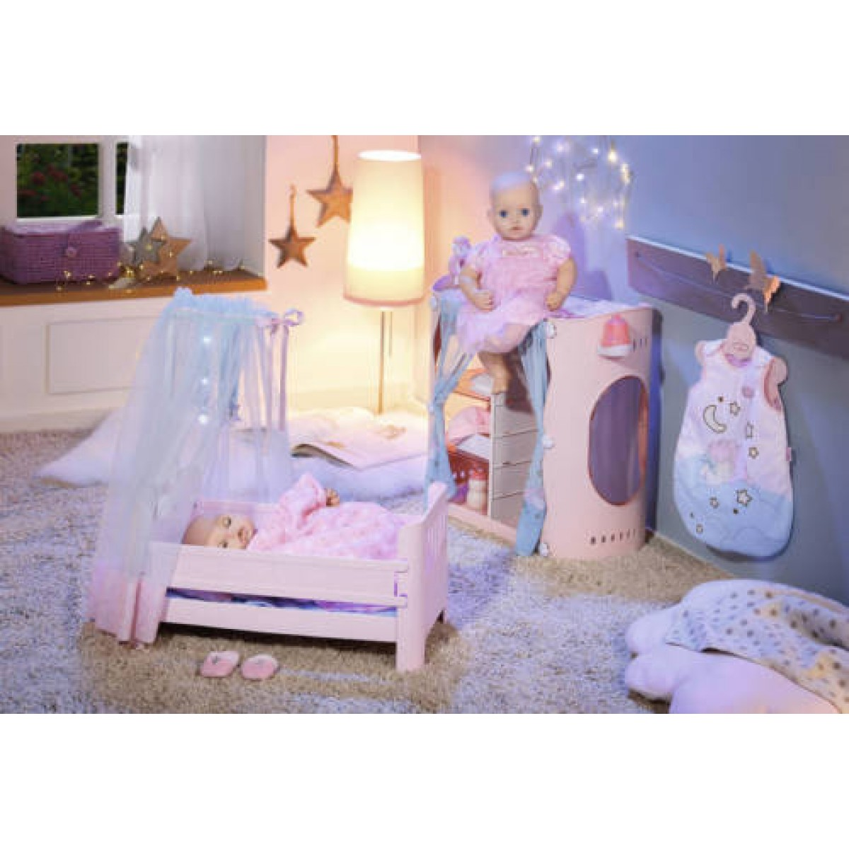 baby annabell sweet dreams puppenbett. Black Bedroom Furniture Sets. Home Design Ideas