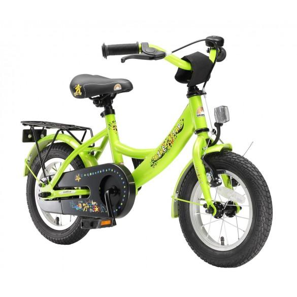 BIKESTAR Premium Sicherheits Kinderfahrrad 12 Zoll Grün