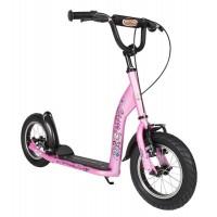 BIKESTAR Tretroller Kinderroller 12 Zoll Sport Edition Pink