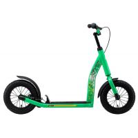 Bikestar Star Scooter Tretroller Kinderroller 12 Zoll New Gen Grün