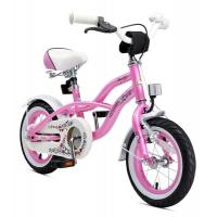 BIKESTAR Premium Sicherheits Kinderfahrrad 12 Zoll Pink