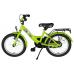 BIKESTAR Premium Sicherheits Kinderfahrrad 16 Zoll Grün