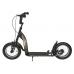 BIKESTAR Tretroller Kinderroller 12 Zoll Sport Edition Schwarz matt