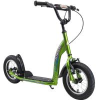 BIKESTAR Tretroller Kinderroller 12 Zoll Sport Edition Grün