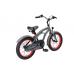 BIKESTAR Premium Sicherheits Kinderfahrrad 16 Zoll Cruiser grau