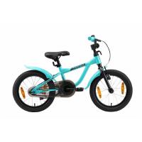 Bikestar LÖWENRAD Kinder Fahrrad ab 4 Jahre mit Bremse 16 Zoll Mint