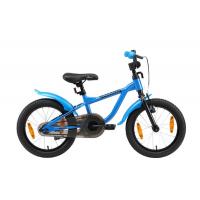 Bikestar LÖWENRAD Kinder Fahrrad ab 4 Jahre mit Bremse 16 Zoll Blau