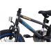 BIKESTAR Kinder Fahrrad ab 4-5 Jahre 16 Zoll BMX  Schwarz & Blau