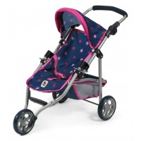 Bayer-Chic Jogging-Buggy Lola navy/pink