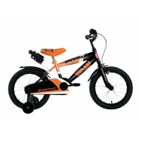 Volare Sportivo Kinderfahrrad 16 Zoll Neon Orange Schwarz
