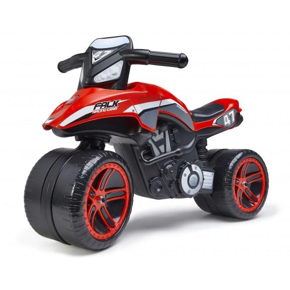 Falk Racing Team Moto Rot Laufrad
