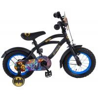 Batman Kinderfahrrad 12 Zoll Schwarz mit Stützrädern