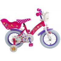 Disney Minnie Bow-Tique Kinderfahrrad 12 Zoll Pink Weiß