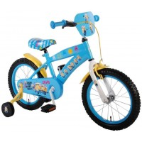Minions Kinder Fahrrad 16 Zoll mit Stützrädern