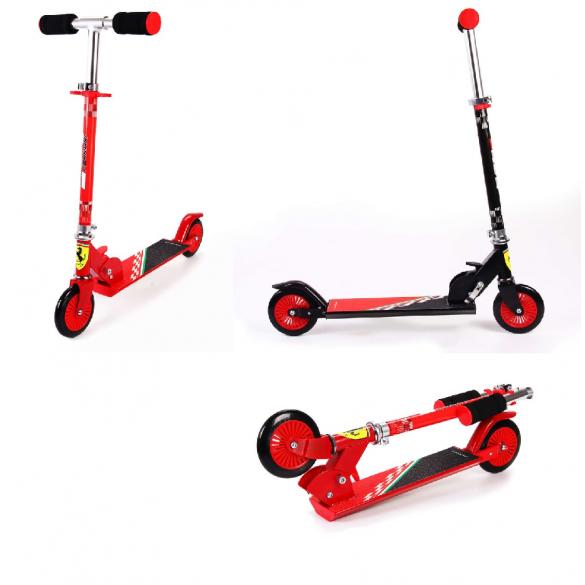 Kinder Ferrari Roller klappbar
