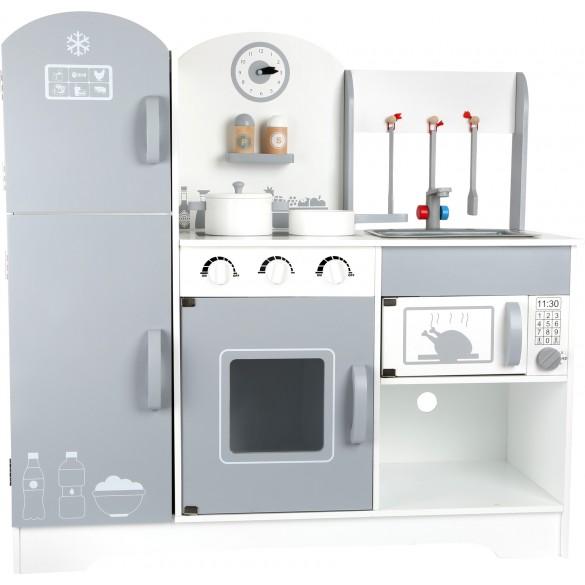 Legler Holz Kinderküche mit Kühlschrank