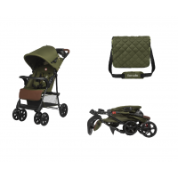 Lionelo Emma Plus Buggy Forest Green