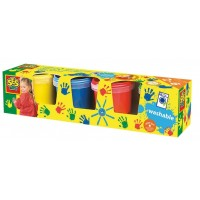 Kinder Fingerfarbe 4er Set