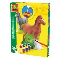 Gipsfigurenset Pferd