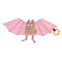 Sigikid Schnuffeltuch Fledermaus rosa