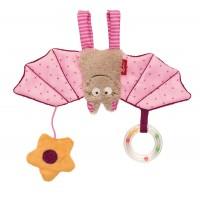 Sigikid Babyschalenanhänger Fledermaus rosa