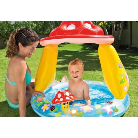Intex Baby Pool Pilz mit Dach
