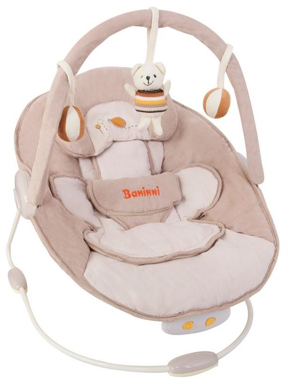 babywippe elektrisch baninni wippe nina senso beige pink schaukel babyschaukel ebay. Black Bedroom Furniture Sets. Home Design Ideas
