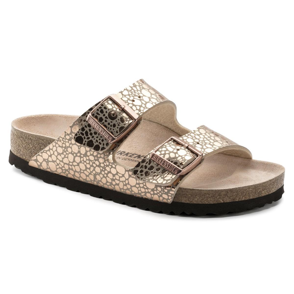 Details zu Birkenstock Arizona Damen Pantolette Sandale Sandalette Birkoflor Hausschuhe