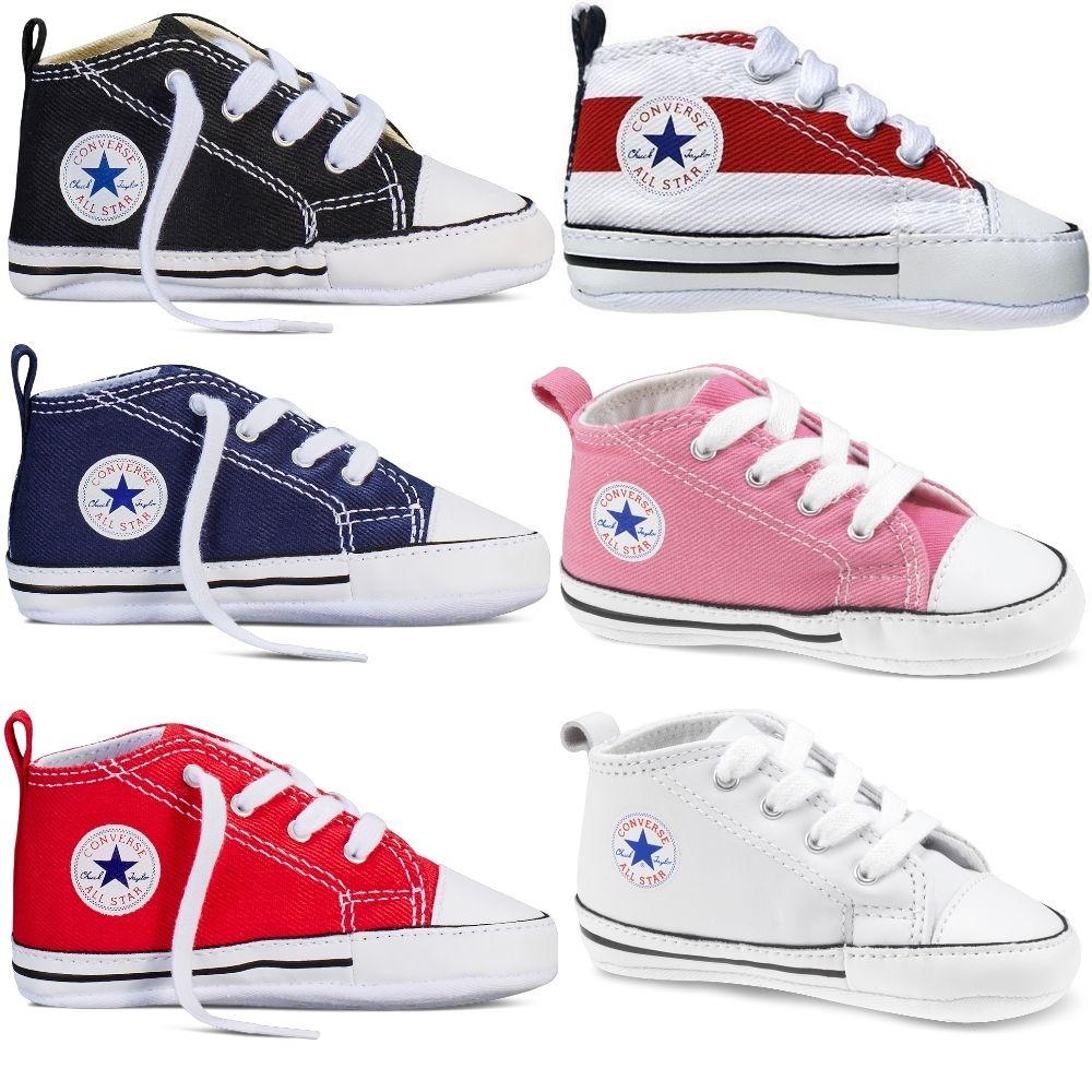 Converse Baby First Star Stoff Schuhe Chucks Babyschuhe