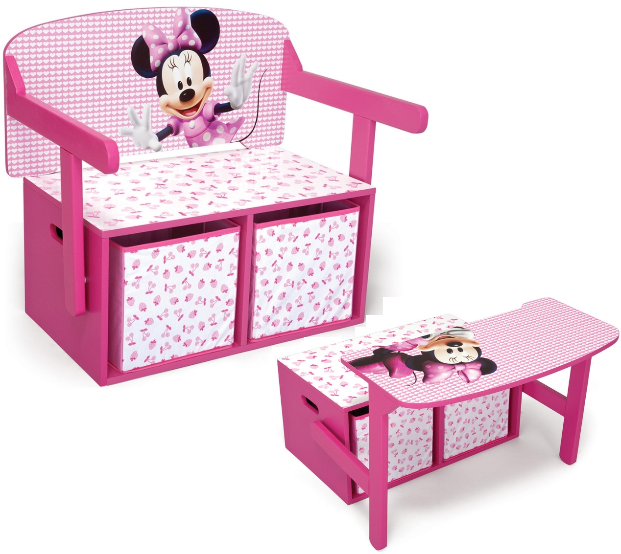 kindersitzbank disney truhe spielzeugtruhe spielzeugkiste. Black Bedroom Furniture Sets. Home Design Ideas