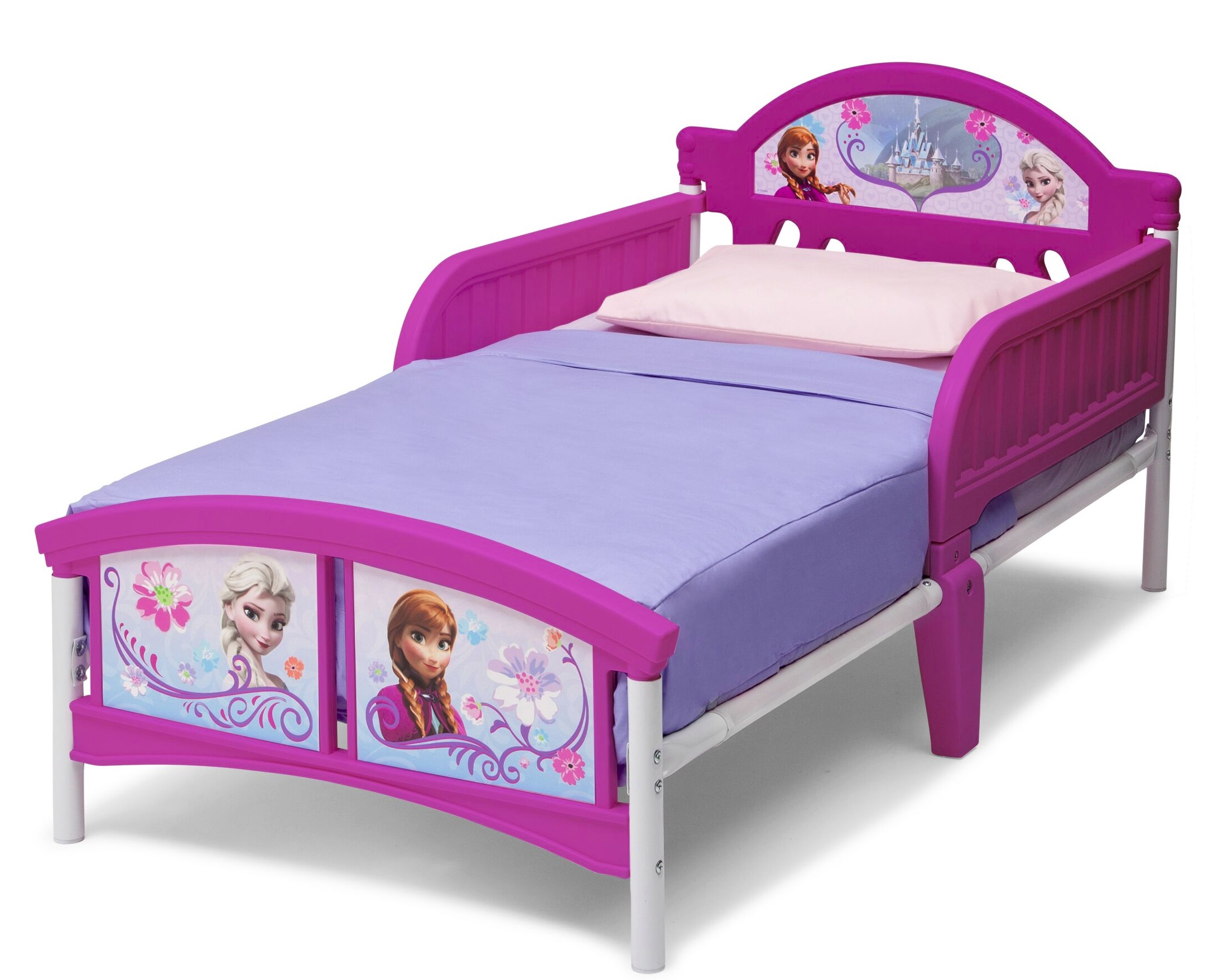 kinderbett disney frozen 70x140 cm rausfallschutz jugendbett kinderbett bett ebay. Black Bedroom Furniture Sets. Home Design Ideas