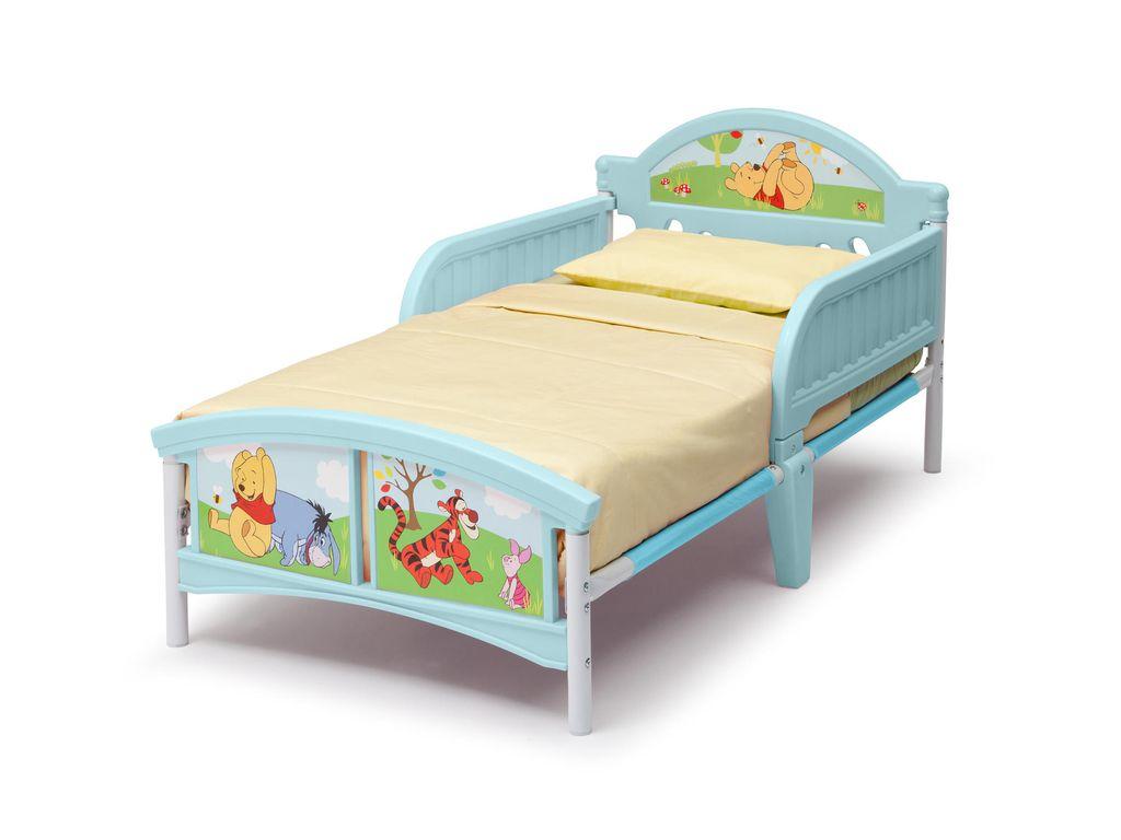 Details zu Kinderbett Disney Winnie Pooh 70x140 cm Rausfallschutz  Jugendbett Kind Bett