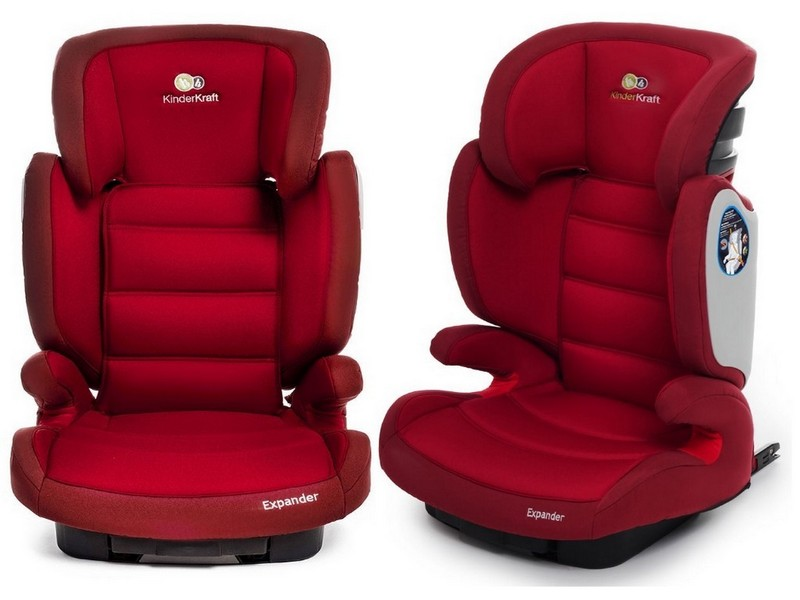 isofix kinderautositz autositz expander kindersitz rot. Black Bedroom Furniture Sets. Home Design Ideas