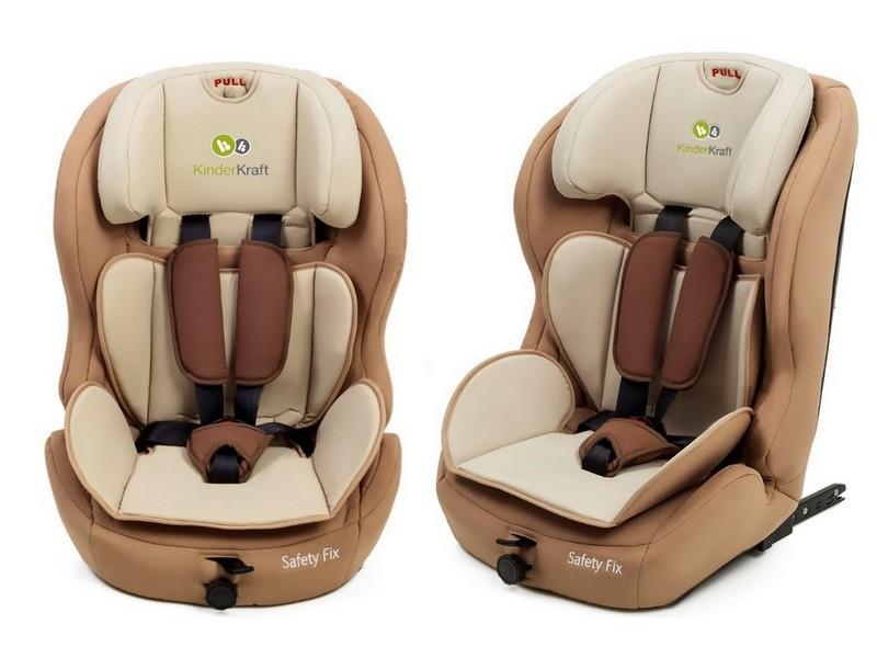 isofix autokindersitz autositz kinderkraft safetyfix beige. Black Bedroom Furniture Sets. Home Design Ideas