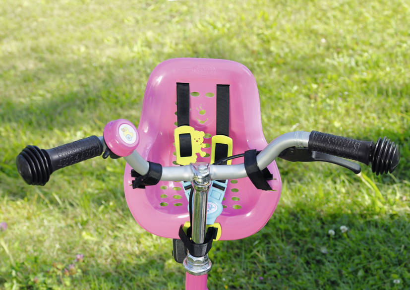 puppen fahrradsitz baby born play fun puppensitz 823712. Black Bedroom Furniture Sets. Home Design Ideas